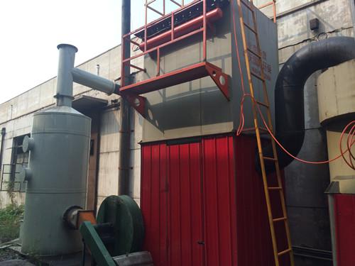 为天津天硕锅炉cmp冠军厂家安装的脱硫cmp冠军和布袋cmp冠军