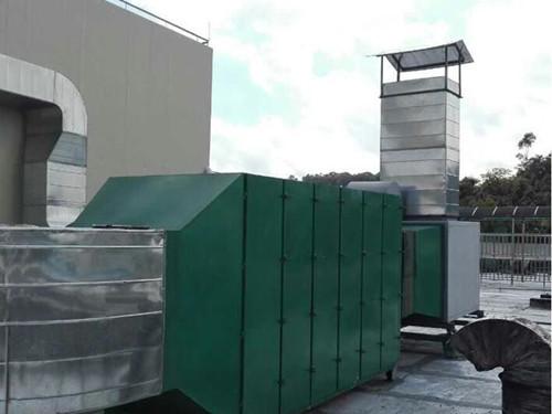 山东菏泽印刷厂活性炭废气处理工程案例图片